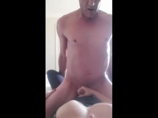 Cumswap Kiss – licking up my cum to kiss her POV – MIN MOO