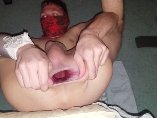Letting my huge gaping asshole breathe...