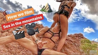 how we film sex in the mountains (part2) – teen porn
