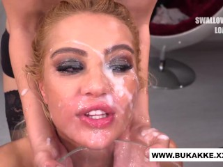 Cherry Kiss Totally Cum Covered – bukkake.xxx