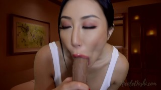 Asian Masseuse Gives Happy Ending at Massage Parlor JOI
