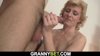 Grandma Shaved Pussy
