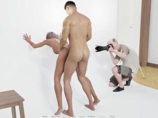 Recording a porn movie ep 51...
