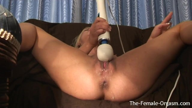 Jooles brooke porn Horny blonde has multiple squirting orgasms from first time with hitachi