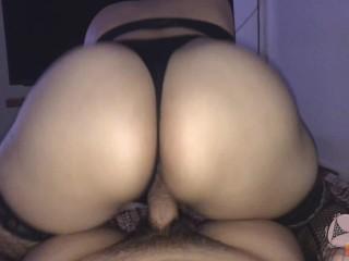 Huge butt...