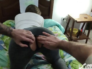 Preview 2 of My Stepsister Gets Stuck and Fucked by Fornite Coins ANAL
