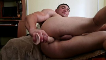 anal balls fingering and dildo double penetration
