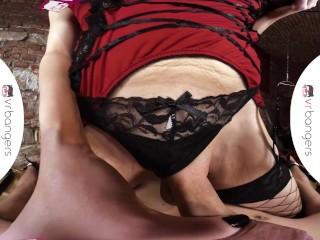 VRB TRANS BDSM Dominatrix Fantasy With Sexy Nikki Vidic VR Porn
