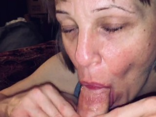 Mature mom gets...