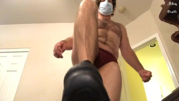 Dr Gives Pansy A Boot Dom To Cure Him POV