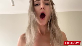 FIT18 - Eva Elfie - Big Natural Tits and No Tattoos