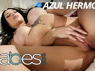 Babes latina azul hermosa by tattoed bf...