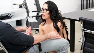 VRB TRANS Bossy Chanel Santini Fucking Her Employee