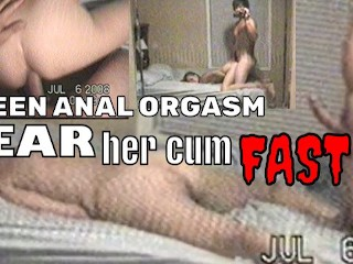 Teen first she orgasms quickly kinda funny vid...