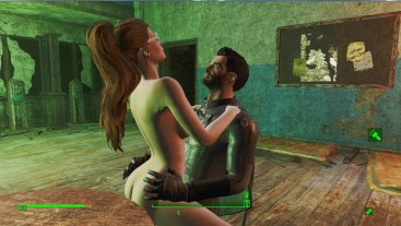 Sex on a chair at school. Prostitutes in Fallout 4   Adult games