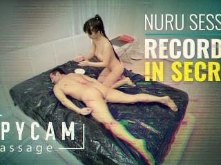 Caught erotic nuru massage on tape...