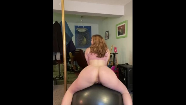 Naked soccor ball players Twerking naked on my yoga ball