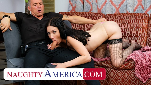 Young sex in america Naughty america jazmin luv goes to town on an older cock