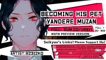 [HOT Yandere ASMR] Becoming His Pet (Demon Slayer - Muzan)