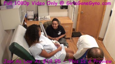 Katalina Gets GynoExam In Front Girlfriend By Doctor Tampa GirlsGoneGynoCom