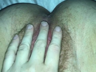 Quick Little Tease For My Creamy Pink Pussy