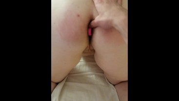 18 yo sub slutwife gets her virgin ass stretched out by 42 yo husband