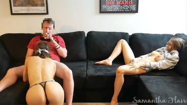 Naughty Stepdaughter Ep. 14 - Caught watching my friend blow my stepdad FULL