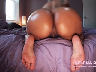 Twerking JOI: Bubble Butt Latina's Massive Oiled Ass – SelenaRyan