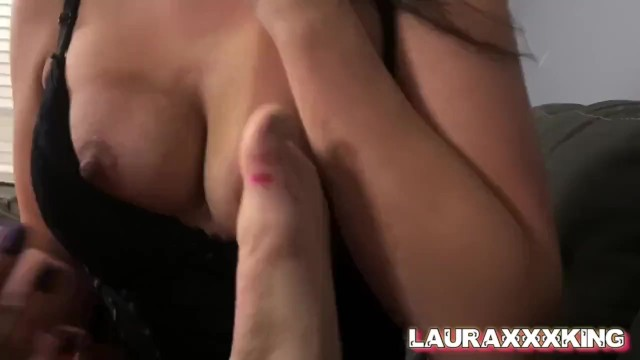 Submissive Slut is Degraded and Dominated as She Worships Hubbys Feet 3