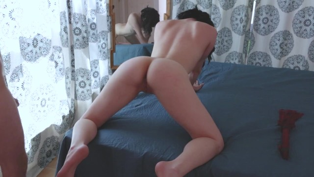 Peppered and then spanked Aiden spanks, flogs, and fucks brodie. then uses a wand to make cum hard.
