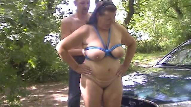 Titten Sklave Ausbildung Große Nackt BDSM