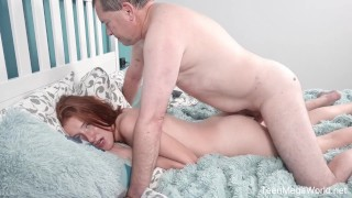 Old-n-Young – Foxy Lee – Old cock inside fresh pussy