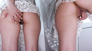 Screen Capture of Video Titled: JUST LISTEN HOW THIS WET PUSSY SOUNDS FROM HOT FINGERING - BIG ASS TEEN