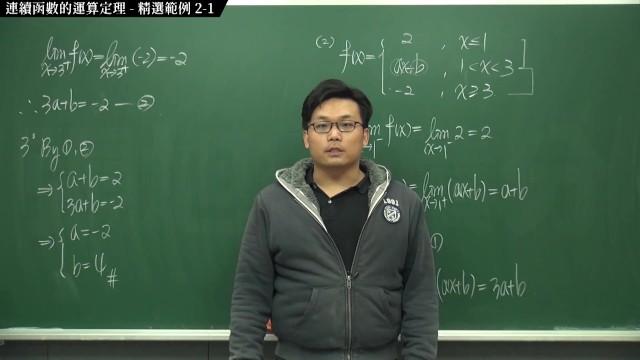 [流出][露出][黑人][突進]【張旭微積分】連續篇主題二:連續函數的運算定理  精選範例 2-1  2020 版 36