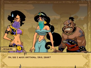 Princess Trainer [v2.03] Part 8 Jasmine Waitress By LoveSkySan69