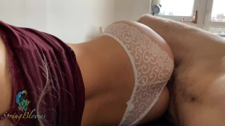 Playing with a Horny Perfect Ass Roommate