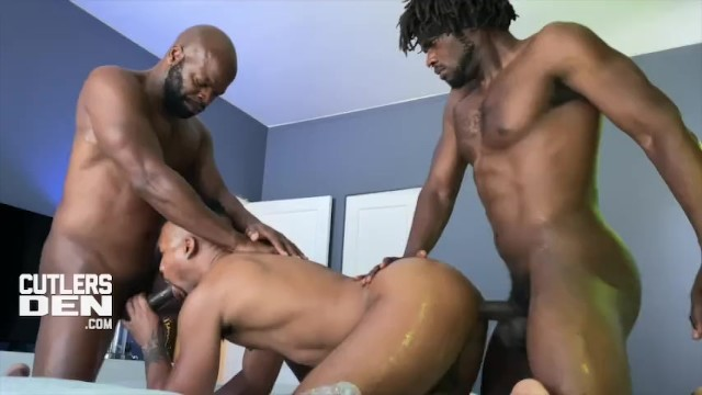 Kakashi gay Cutlersden cutler x devin trez jacen zhu 3way ebony bb raw fuck