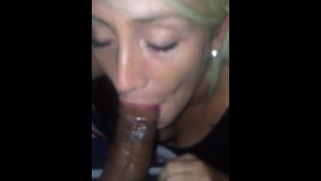 White sluts black nuts Lil white slut sucking black dick till it nuts