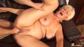 68 years old mom rough fist fucked