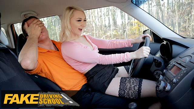 Sarah jay takes a black dick Fake driving school blonde marilyn sugar in black stockings sex in car