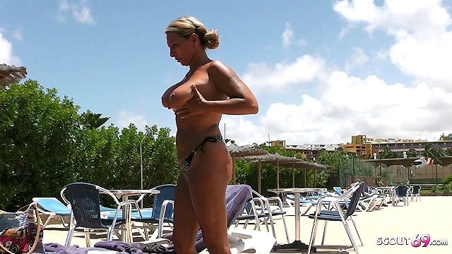 Amature voyeur sex Stranger voyeur topless milf at pool and seduce her to fuck