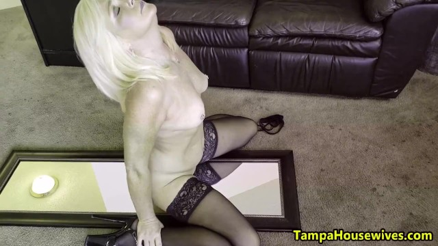 Housewives thumbs Ms paris stays wet and horny at home and work