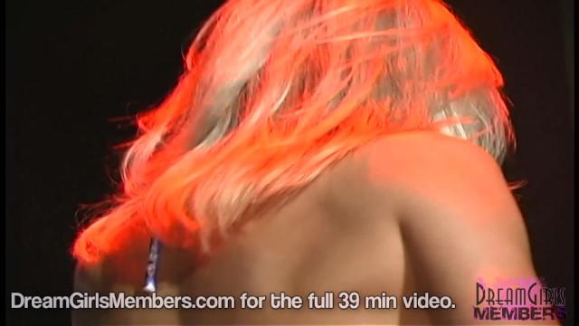 Oiled Up Bikini Freaks Wrestle At A Local Nightclub 11