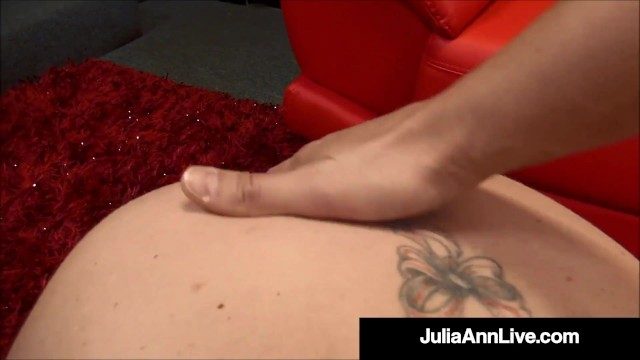 Holy Milf Blowjobs! Julia Ann Milks, Sucks & Busts A Nut! 50