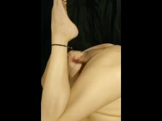 Love legs ass n cock...