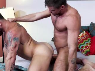 Extrabigdicks jack andys big cock is a workout...