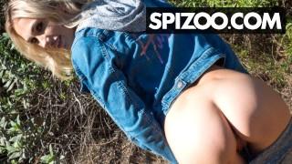Voyeur Outdoor Fucking With Skinny Blonde – Spizoo