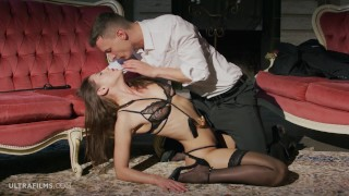 ULTRAFILMS LEGENDARY Sybil is dominated by her lover. Big cock adds thrill!