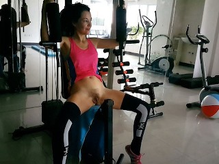 Women workout videos naked Nude sports,