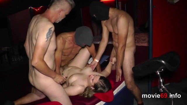 Adult enuresis in 19yo fraya adult in a private gangbang party